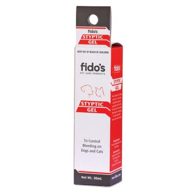 Fidos Styptic Gel For Cats And Dogs 30ml