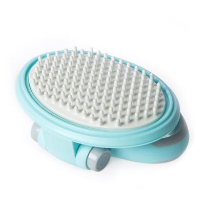 Vetnex Grooming Massage Brush Blue For Dogs And Cats