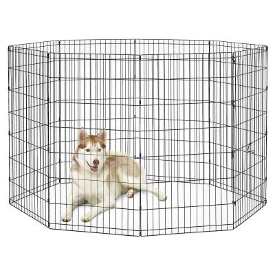 Metal Exercise Activity Pen For Dogs 48 Inch 120cm Height