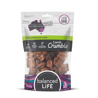 Balanced Life Lamb Crumble Dried Treats For Dogs 45gm