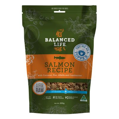 Balanced Life Rehydrate Salmon Recipe Natural Air Dried Meat Dog Food Topper 200gm