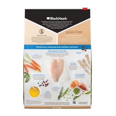 Black Hawk Grain Free Puppy Ocean Fish Dry Dog Food 7kg