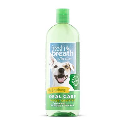 Tropiclean Fresh Breath Water Additive Original For Dogs 1L