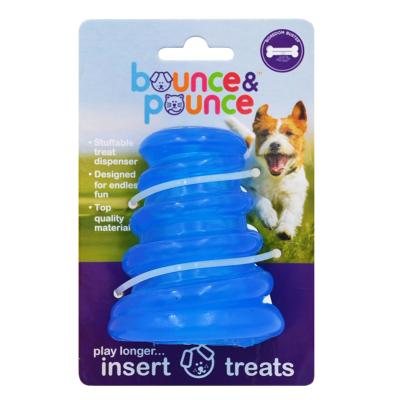Bounce & Pounce Mongoose Treat Dispenser Assorted Colour Toy For Dogs