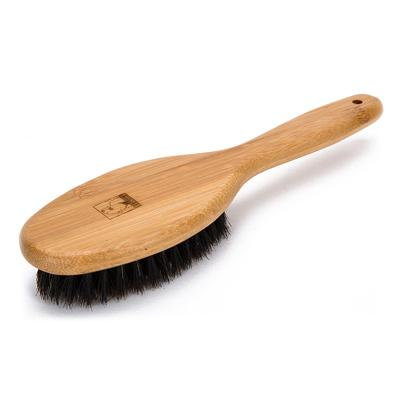 True Love Grooming Bristle Bamboo Brush Medium For Cats And Dogs