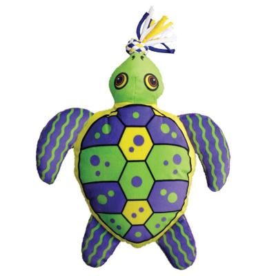 KONG Aloha Turtle Plush Squeak Small/Medium Toy For Dogs