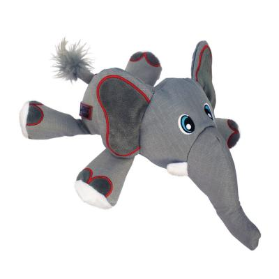 KONG Cozie Ultra Ella Elephant Plush Squeak Medium Toy For Dogs