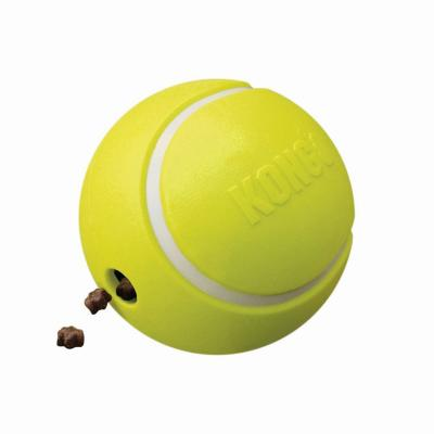 KONG Rewards Tennis Ball Rubber Treat Dispenser Small Toy For Dogs