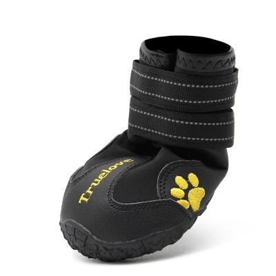True Love Elantra Active Outdoor Boots Black Shoes For Dogs Size 3