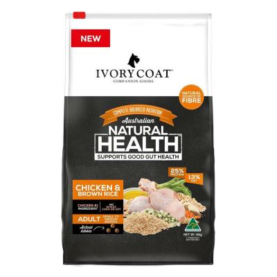 Ivory Coat Chicken And Brown Rice Adult Dry Dog Food 18kg