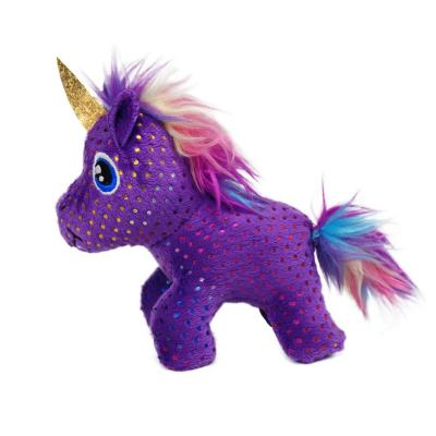 KONG Enchanted Buzzy Unicorn Plush Toy For Cats