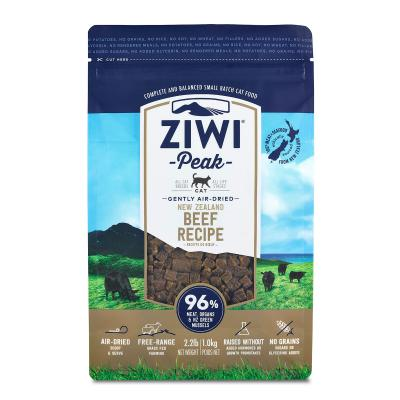 Ziwi Peak Grain Free Beef Kitten And Adult Air Dried Meat Cat Food 1kg