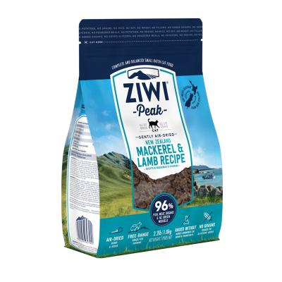 Ziwi Peak Grain Free Mackerel And Lamb All Life Stages Air Dried Meat Cat Food 1kg