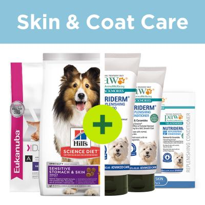 Sensitive Skin Care - Premium Food Plus PAW Shampoo And Conditioner For Dogs