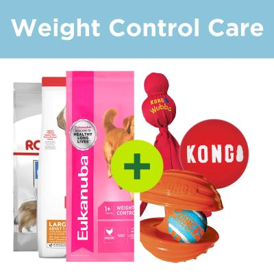 Weight Management Care - Premium Large Breed Food Plus Get Active Toys For Dogs