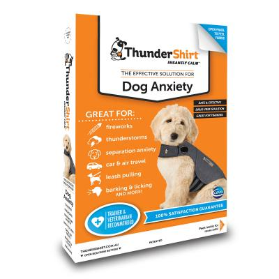 Thundershirt For Dogs Anxiety Grey S - Chest 40-58cm 6.3-11kg