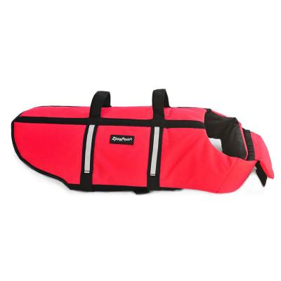 Zippy Paws Water Sport Flotation Life Vest Jacket Red Large (Girth Size: 70-81cm) For Dogs