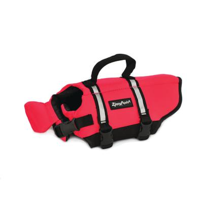 Zippy Paws Water Sport Flotation Life Vest Jacket Red XSmall (Girth Size 27-38cm) For Dogs