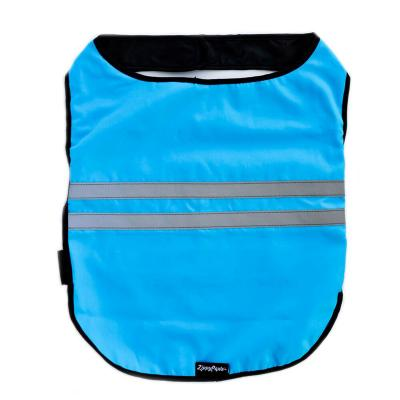 Zippy Paws Cooling Reflective Vest Coat Blue Large (Girth Size: 76-102cm) For Dogs