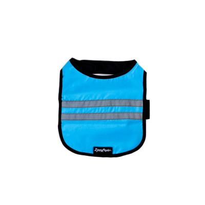 Zippy Paws Cooling Reflective Vest Coat Blue Small (Girth Size: 41-61cm) For Dogs