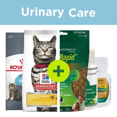 Urinary Care - Food Plus Support Supplements For Cats