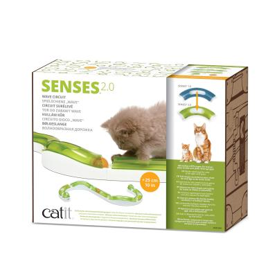 Catit 2.0 Senses Wave Circuit Ball Track Toy For Cats