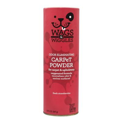 Wags & Wiggles Odour Eliminating Carpet Powder Strawberry 567g