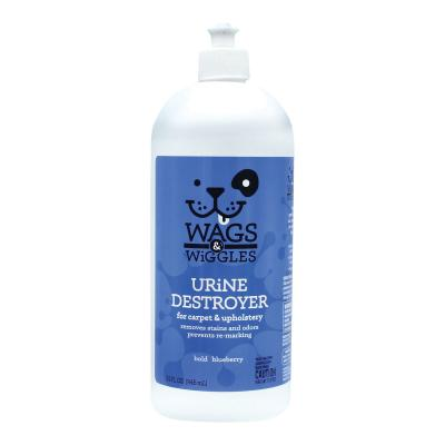 Wags & Wiggles Urine Destroyer For Carpet And Upholstery Blueberry 946ml