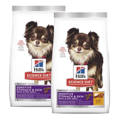 Hills Science Diet Sensitive Stomach And Skin Chicken Recipe Small/Mini Adult Dry Dog Food 3.62kg