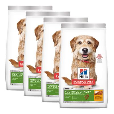 Hills Science Diet Youthful Vitality Small/Toy/Mini Breed Chicken And Rice 7+ Mature/Senior Dry Dog Food 6.32kg  (10770)