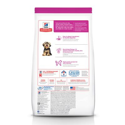 Hills Science Diet Small Paws Chicken Meal Rice Recipe Adult Dry Dog Food 3kg