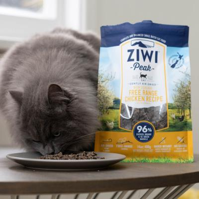 Ziwi Peak Grain Free Chicken Kitten And Adult Air Dried Meat Cat Food 1kg