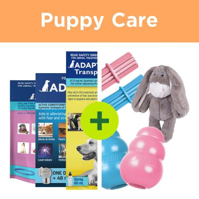 Puppy Anxiety Solutions - Adaptil Plus Supportive Toys For Dogs