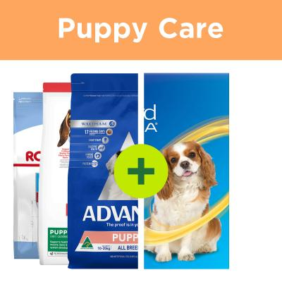 Essential Puppy Products - Premium Food Plus Parasite Control For Dogs