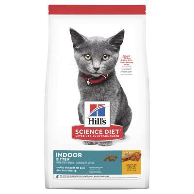 Hills Science Diet Indoor Chicken Recipe Kitten Dry Cat Food 3.17kg
