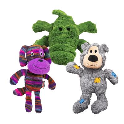KONG Cuddly Toys Multipack Medium For Puppy And Dogs