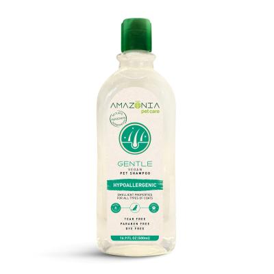 Amazonia Gentle Hypoallergenic Natural Vegan Shampoo For Dogs And Cats 500ml
