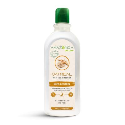 Amazonia Oatmeal Shed Control Natural Conditioner For Dogs And Cats 500ml