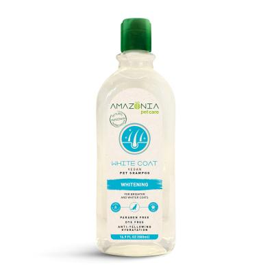 Amazonia White Coat Natural Vegan Whitening Shampoo For Dogs And Cats 500ml