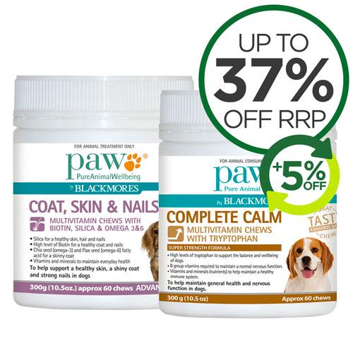Paw Vitamin Range