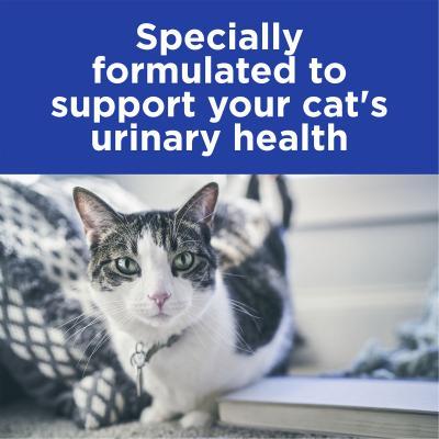 Hills Prescription Diet Feline c/d Urinary Care Multicare Chicken Pouches Wet Cat Food 85gm x 12 (3406LN)