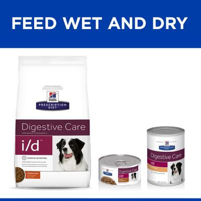 Hills Prescription Diet Canine i/d Digestive Care Canned Wet Dog Food 370gm x 12 (7008)