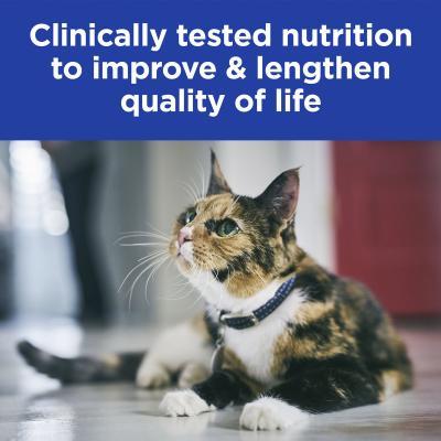 Hills Prescription Diet Feline k/d Kidney Care Chicken Vegetable Stew Canned Wet Cat Food 82gm x 24 (3393)