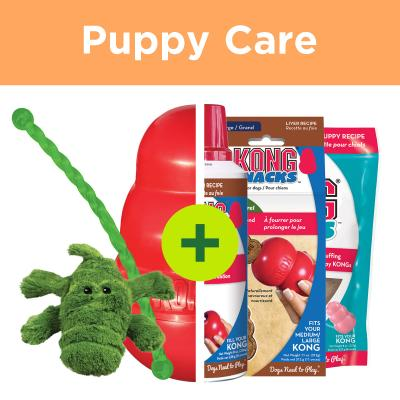 KONG Puppy Play Plus Rewards For Large Puppies