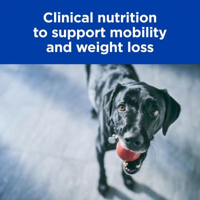 Hills Prescription Diet Canine Metabolic + Mobility Weight Plus Joint Care Chicken Dry Dog Food 3.86kg