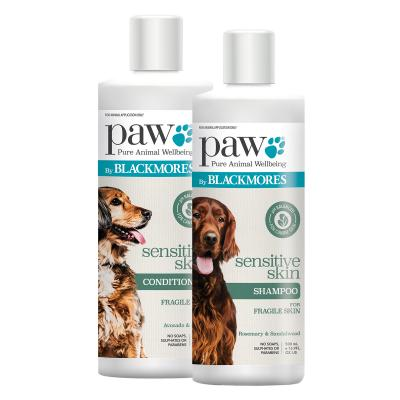 PAW By Blackmores Shampoo For Sensitive Skin & Conditioner For Sensitive Skin For Dogs 500ml