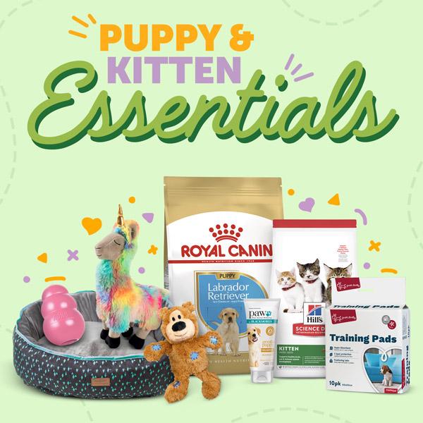 Puppy And Kitten Essentials