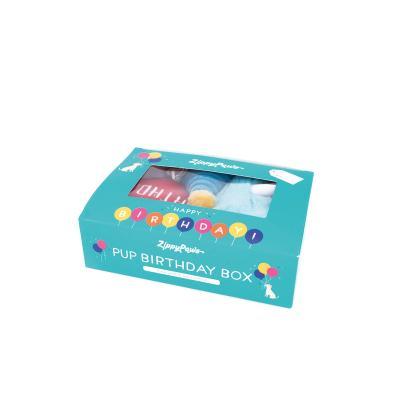 Zippy Paws Birthday Box Of 3 Plush Squeak Toys For Dogs
