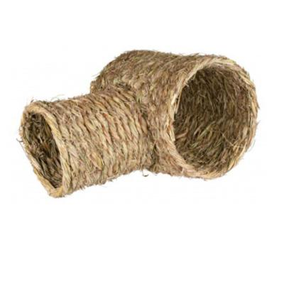 Trixie Grass Tunnel Toy For Guinea Pigs Rabbits And Small Animals