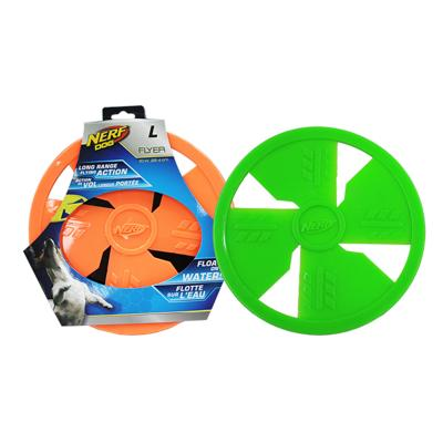 NERF Frisbee Flyer Float Fetch Assorted Colour Large Toy For Dogs